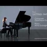 Lettres Intimes by Dominique Dupraz