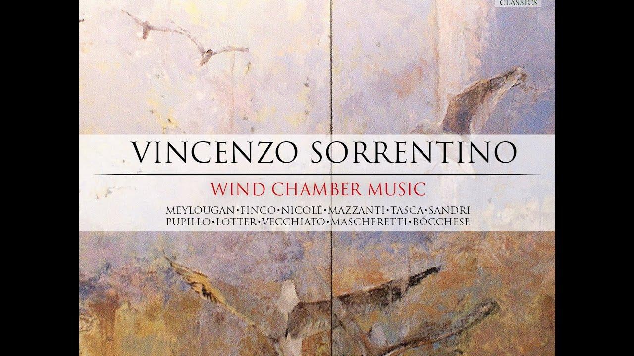 Vincenzo Sorrentino – Works Vol.1: Wind Chamber Music