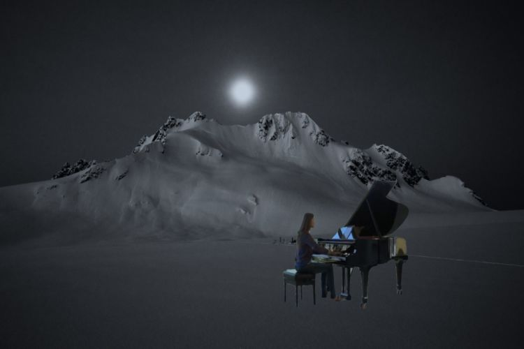 Anna Sutyagina plays the original composition by Chinese composer Zhang Zhao.
