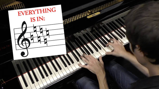 The Evolution of Piano Music in C-Major
